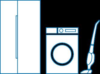 家庭用家電の画像