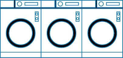業務用洗濯機の画像