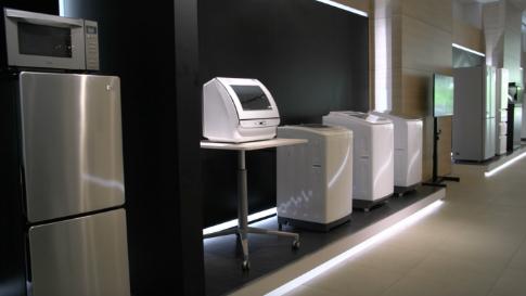 熊谷R&Dセンター商品展示コーナー