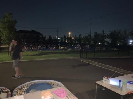 熊谷花火大会の様子